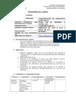 Programa de Contabilidad de Empresas Especiales 2013 PFS
