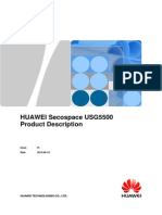 HUAWEI Secospace USG5500 Product Description