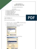 CATIA Tutorial LA4 Generative Drafting