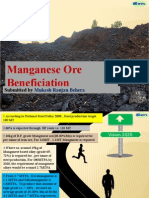 Manganese Beneficiation Ppt