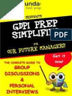 TestFunda GDPI Prep Simplified