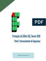 Formacao de DBAs - Parte 3 - Seguranca
