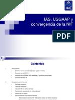 IAS USGAAP y Convergencia de La NIF