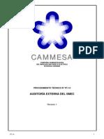PROCEDIMIENTO TÉCNICO N° PT-14