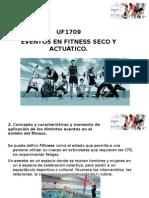 UF1709. Eventos en Fitness Seco y Acuático