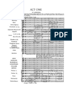Puccini la Boheme Act 1, full score
