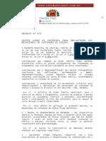 Decreto 176 Curitiba 2007
