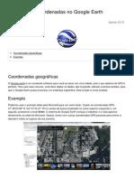Como Inserir Coordenadas No Google Earth 16511 Ntic3w