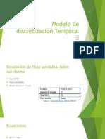 Modelo de Discretizacion Temporal