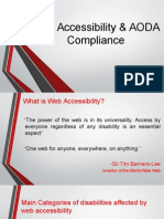Web Accessibility & AODA Compliance