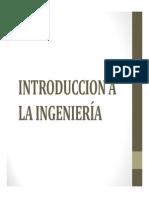 Introduccion a La Ingeniería