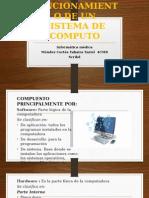 Estructura y Funcionamiento de Un Sistema de Computo