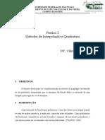 Interpolação e Quadradura