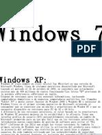 Windows XP :