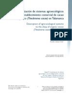 Dialnet-CaracterizacionDeSistemasAgroecologicosParaElEstab-4835653