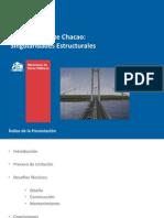 Puente Colgante Chacao - Detalles Tecnicos