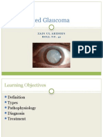 Lens Related Glaucoma
