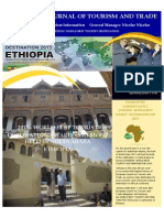 EUROPEAN COUNCIL ON TOURISM AND TRADE PRESENTS 2015 TOURISM LEADER-ETHIOPIA
