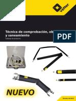 Vetter Catálogo Técnica de Comprobación, Obturación ES