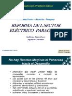 Reforma Sector Electrico Py