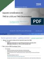 Twszos Twsd Upgrade
