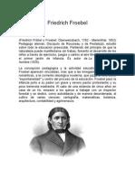 Federico Froebel..