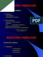 RECEITAS PUBLICAS