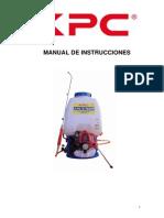 Manual Kpc768m Es