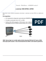Configurar Autorizar ONU EPON GPON