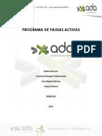 Programa Pausas Activas