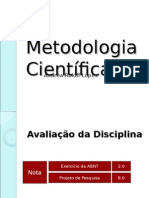 Metodologia Cient