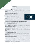 Present Participle Clauses