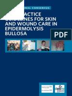 Guía para tratamiento y cuidado en la epidermolisis bulos