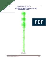 Memoria de Calculo Tac 30m 1.2x1.2 - 100kph-g - Corregido