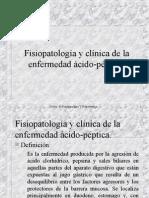 FISIOPATOLOGIA DE LA ENFERMEDAD ACIDO PEPTICA