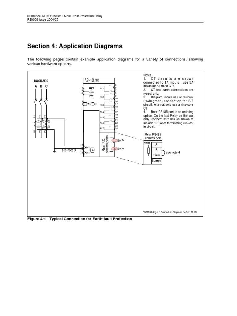Argus 1 Resistor Electronic Engineering Function Of Overcurrent Relay
