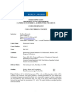 Course Information- CV8313-September 2015