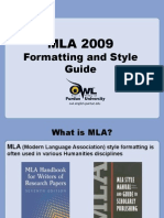 purdue powerpoint on mla for stations