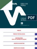 Catálogo de Peças cbx aero