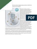 El Innovador Vitrificado de Cerámica HygieneGlaze Elimina El 99