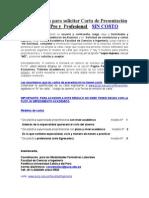 Procedimiento Para Solicitar Carta de Presentación Para Práctica Pre y