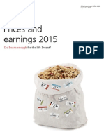UBS - Prices and Earnings 2015