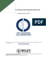 Acupuncture for Benign Prostatic Hyperplasia