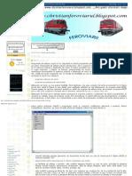 FEROVIARII_ Editoare de Text