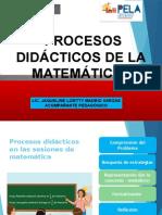Procesos Didacticos Matematica 2015