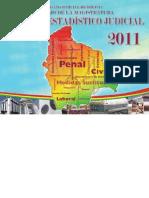 Anuario Estadístico judicial 2011