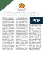 Boletín El Abrazo Nro. 15 del 19.10.2014