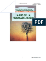 La Mas Bella Historia Del Mundo - H Reeves J de Rosnay Y Coppens y D Simonnet