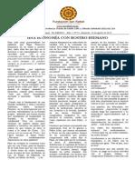 Boletín El Abrazo Nro. 51 del 16.08.2015