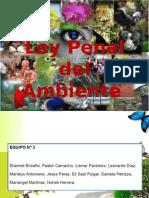 Ley Penal Del Ambiente ( Todas)
